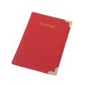 Etui pentru pașaport, culoare roșie