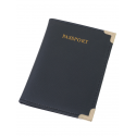 Etui pentru pașaport, culoare neagră