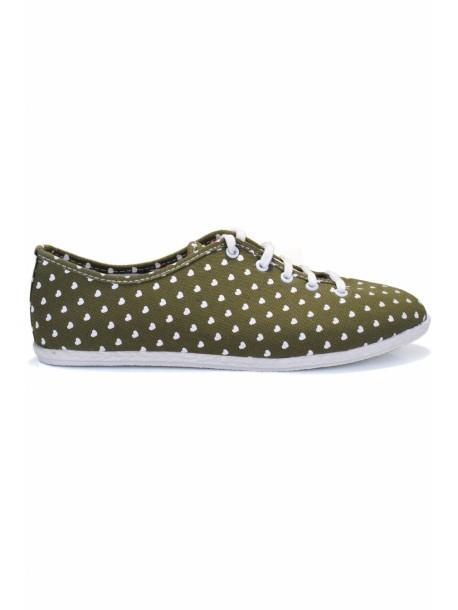 Pantofi Reni verde