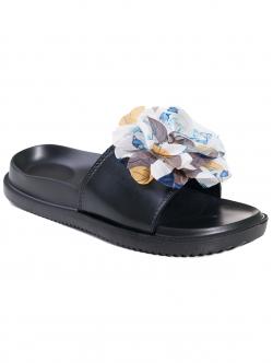 Papuci de damă cu floare