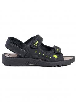 Sandale bărbătești Jomix, culoare neagră