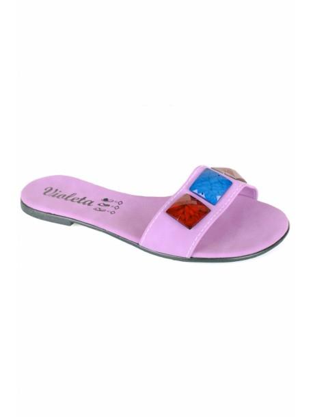 Papuci Violeta mov deschis