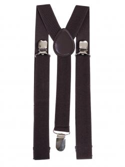 Bretelele de culoare maro închis