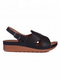 Sandale de damă cu platformă medie