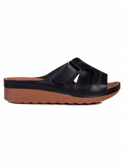 Papuci de damă cu platformă medie, cu arici