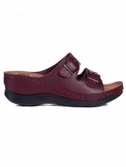 Papuci de damă cu talpă ortopedică