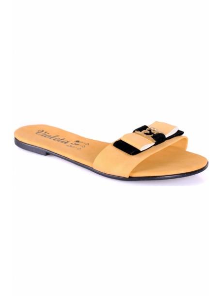 Papuci de dama Violeta galbeni