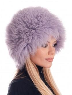 Pălărie naturală de puf