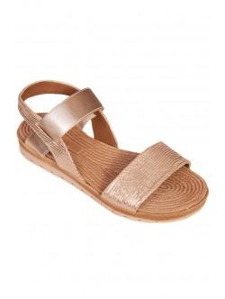 Sandale dama - talpă anatomică - aurie
