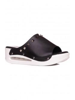 Papuci de damă ortopedici în culoare neagră