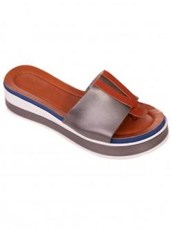 Papuci de damă confortabili din argint