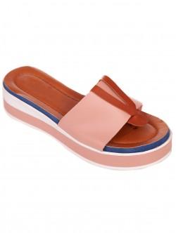 Papuci de damă confortabili roz