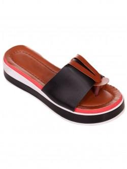 Papuci de damă confortabile negre
