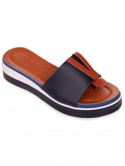 Papuci de damă comode albastre