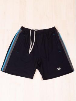 Pantaloni scurți din bumbac albastru