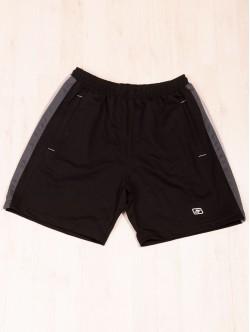 Pantaloni scurți din bumbac negru