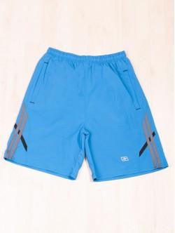 Pantaloni scurți de bărbați Bermuda în albastru deschis