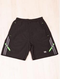 Pantaloni scurți de bermuda de plajă în culoarea neagră