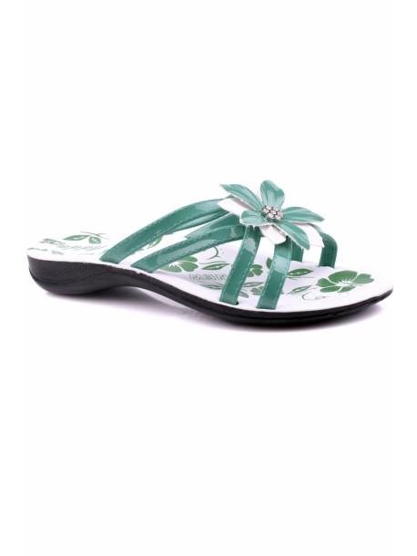 Papuci Popi in culoarea verde