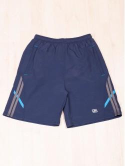 Pantaloni scurți pentru bărbați de culoare albastru închis