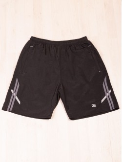 Pantaloni scurți de bărbați Bermuda în negru