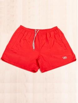 Pantaloni scurți de plajă în roșu