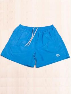 Pantaloni scurți de plajă în albastru deschis