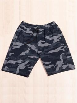 Pantaloni scurți pentru bărbați - camuflaj albastru