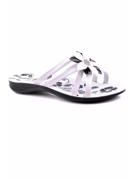 Papuci Popi albi