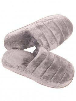Papuci de casă pentru femei - gri