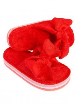 Papuci de casă - roșii