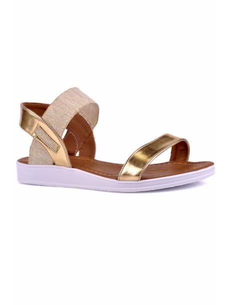 Sandale Melisa culoarea aurie