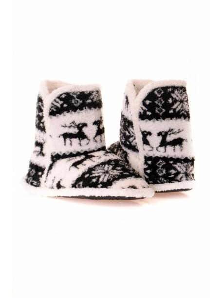 Papuci de iarna black