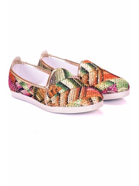 Pantofi de dama Kimi verde