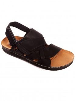 Sandale bărbătești de culoare neagră