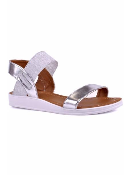 Sandale Melisa culoarea argintie