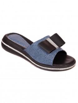 Papuci cu panglică - albastru