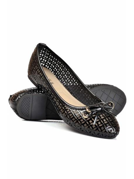 Pantofi negri Bonny