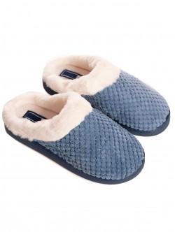 Papuci albastru pentru femei