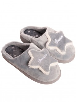 Papuci de damă gri Dream