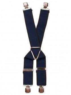 Bretele cu 4 cleme - albastru