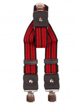 Bretele late - roșu și negru