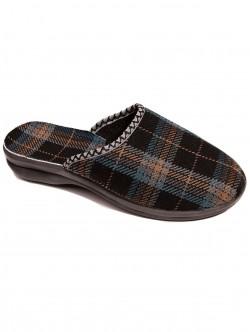Papuci Acasă pentru bărbați carouri