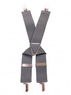 Bretele pentru pantaloni - gri