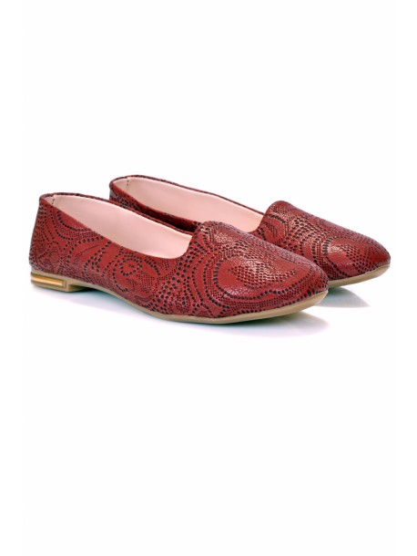 Pantofi Zaki bordo