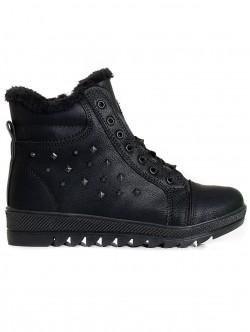 Cizme pentru zapada în negru