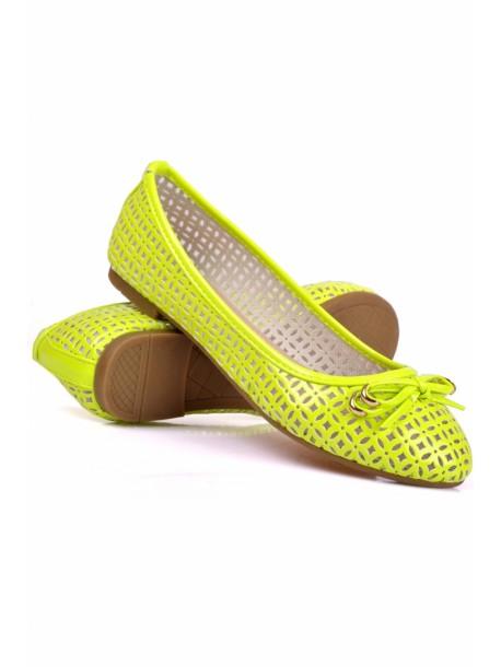 Pantofi Bonny galben