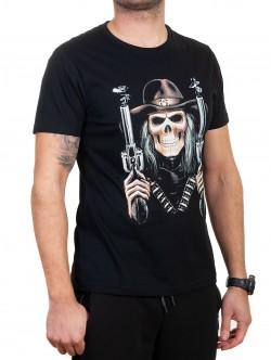 Tricou bărbătesc cu craniu