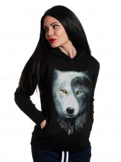 Hanorac de dama cu lup