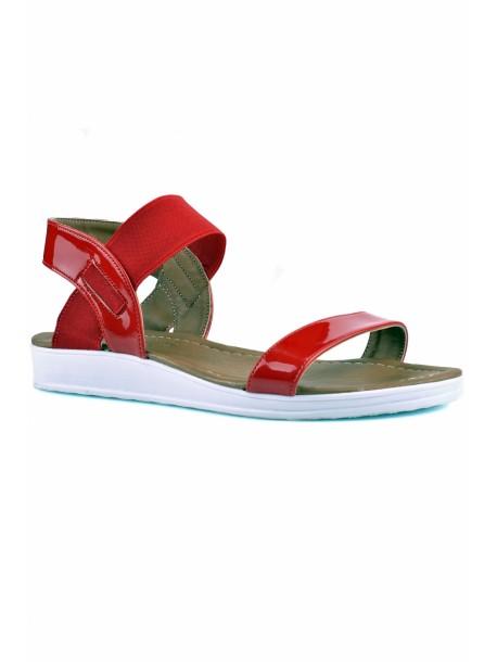 Sandale Melisa culoarea rosie